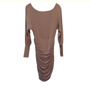 Bebe taupe Dress